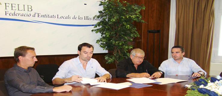 IB-RED y la FELIB firman un convenio para la creación de zonas de Internet wi-fi públicas en los municipios de Baleares