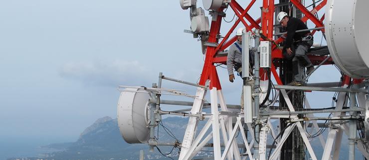 IB-RED pone en funcionamiento la primera estación 4G de Baleares, con emisión en pruebas