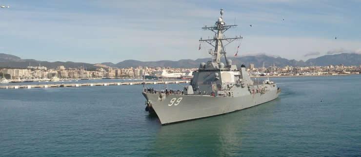 Una área wifi para los marines norteamericanos