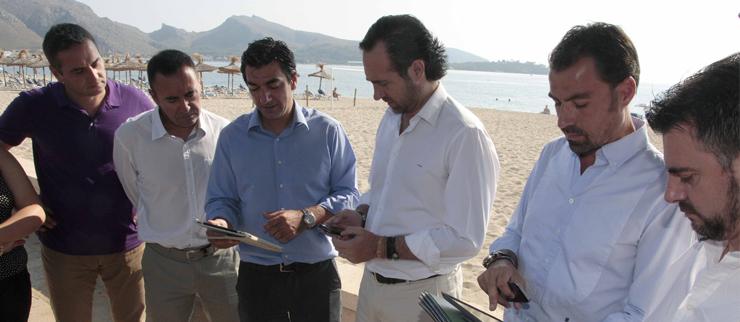IB-RED pone en marcha en proyecto ib-WiFi playas con una prueba piloto en Port de Pollença