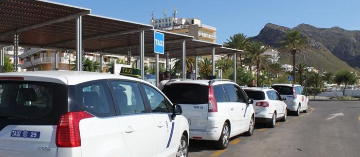La parada de Radio Taxi Pollença en Port de Pollença ya dispone de conexión a Internet 4G