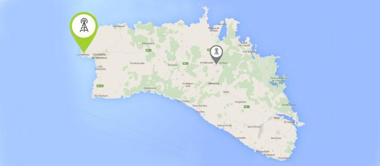 Nuevo repetidor 4G en Menorca