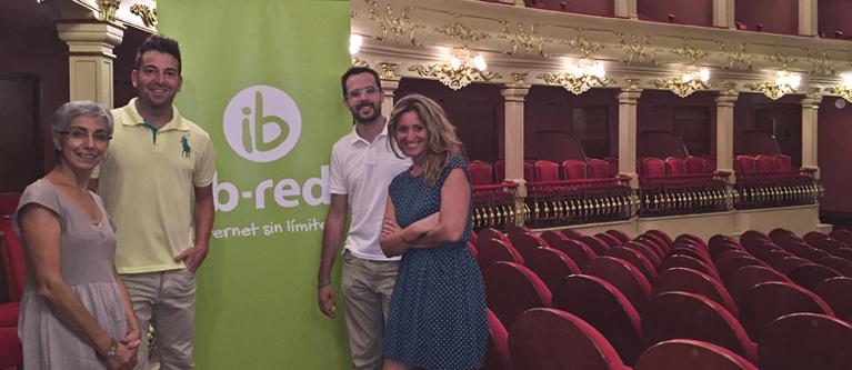 El Teatro Principal de Maó ofrece servicio de wifi gratuito