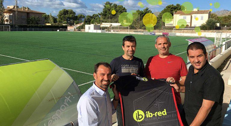 ib-red y el Pollença i Port F.C. renuevan su convenio de colaboración