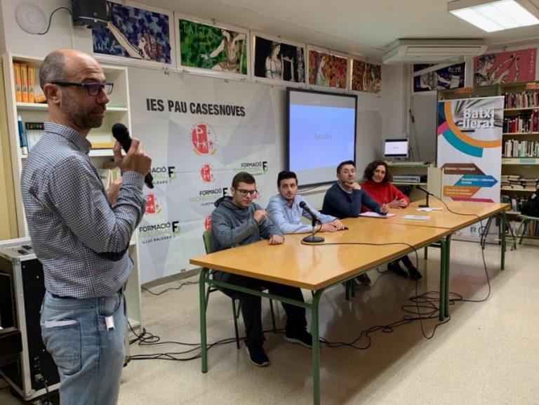 ib-red acerca a los alumnos del IES las salidas laborales tras sus estudios