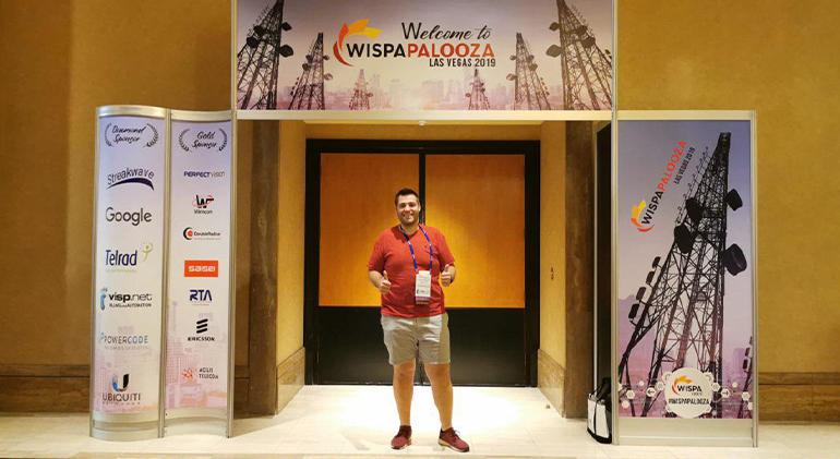 Francisco Hidalgo, ib-red, evento internet en Las Vegas