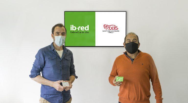 Internet y telefonía móvil gratis para PRODIS